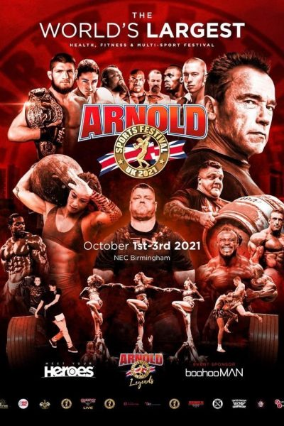 Misschief at the Arnold Sports Festival!